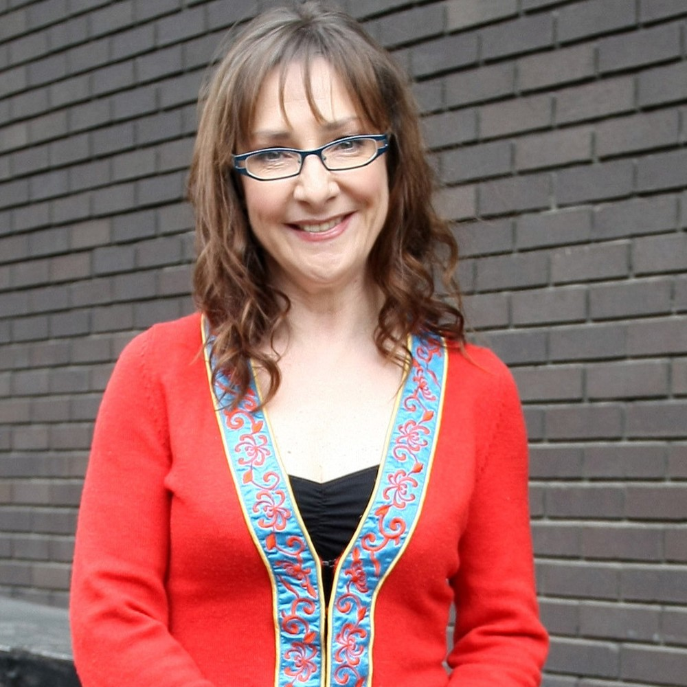 Pauline McLynn leaving the ITV studios London, England - 09.03.10  Featuring: Pauline McLynn Where: London, United Kingdom When: 09 Mar 2010 Credit: WENN